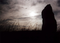 Malltraeth menhir, Ynys Mon by Tim Prevett
