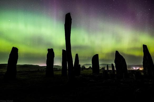 Aurora over Callanish - photo by CallanishDD